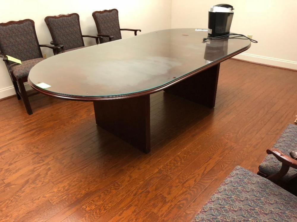 Ft Wood Conference Table By Inward Office Furniture - 7 ft conference table