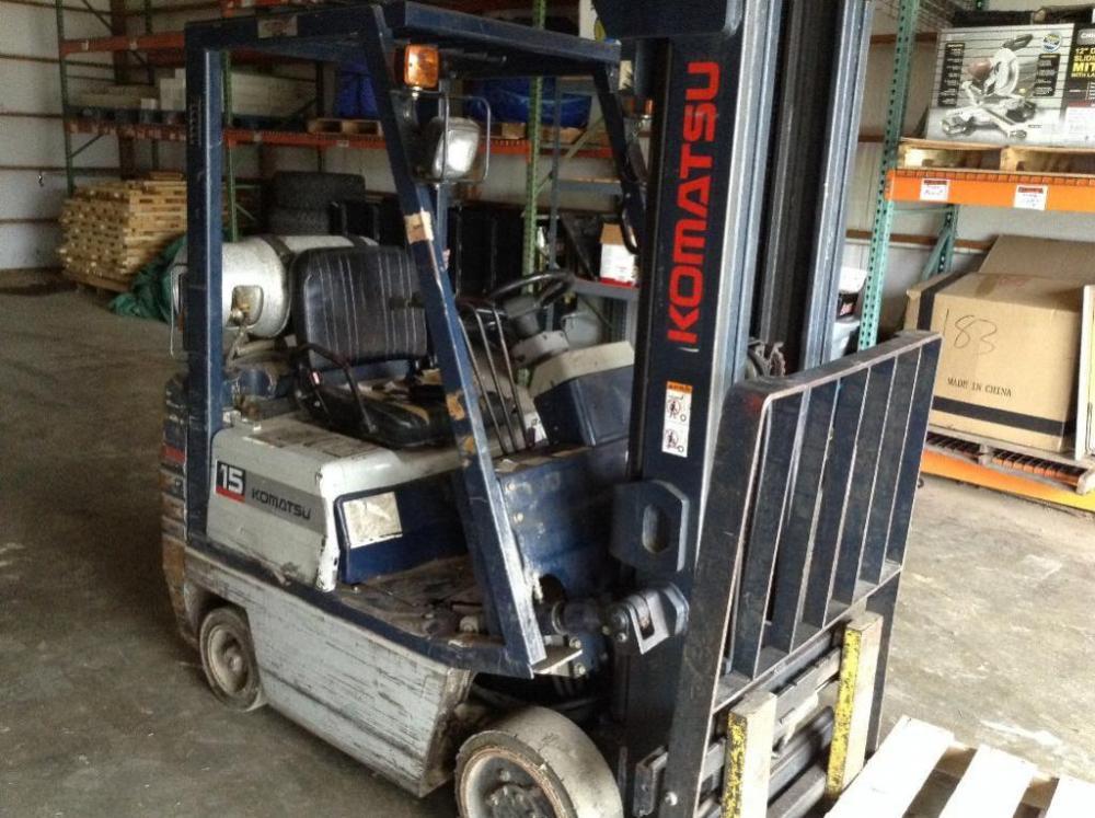 Komatsu 15 Propane Forklift